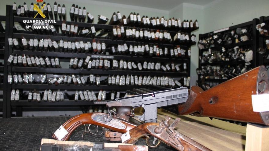 La Guardia Civil subastará 330 armas el 3 de octubre en Santander