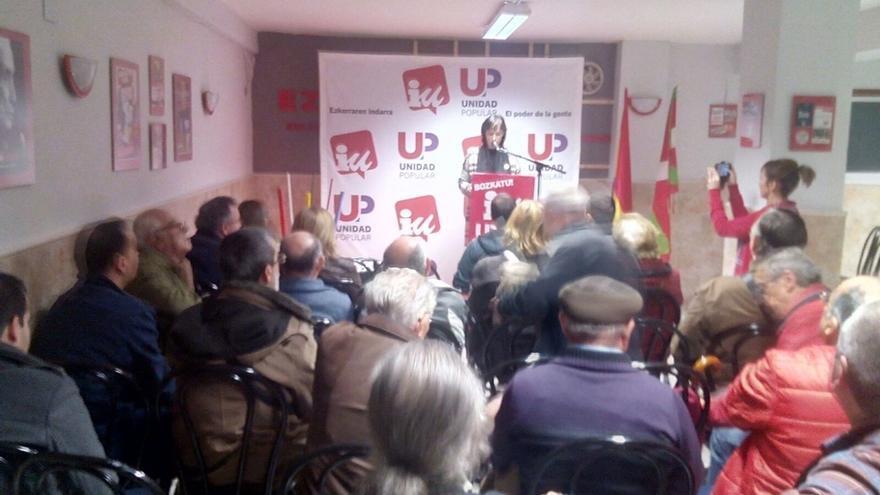 """Ezker Anitza-IU apuesta por una mayoría de izquierdas para evitar la """"ofensiva de la derecha"""""""
