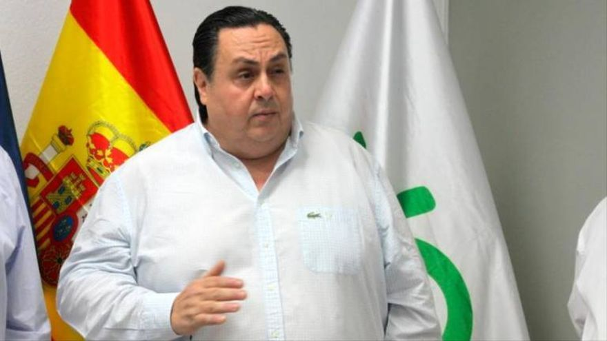 El presidente de Vox en la provincia de Las Palmas, Ricardo Baña.