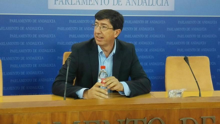 """Marín (C's) asegura que votarán """"favorablemente"""" la petición de que Díaz comparezca en la comisión de investigación"""