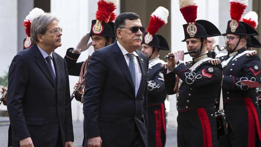 El Jefe de Gobierno de unidad libio participa en Roma en una reunión del grupo UE-África