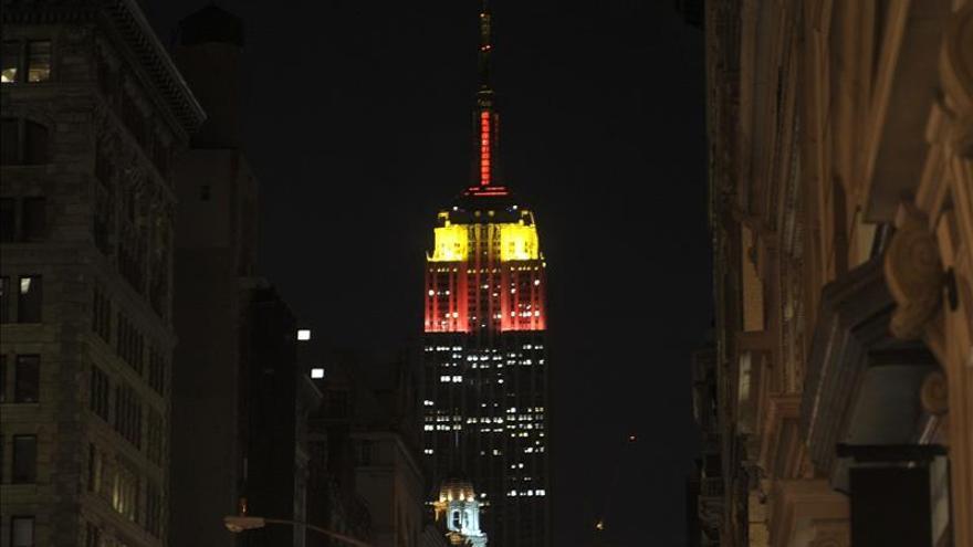 La ONU ilumina Nueva York de naranja contra la violencia de género