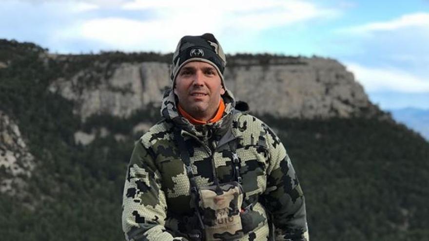 El hijo mayor de Donald Trump, de visita en Teruel para cazar cabras montesas