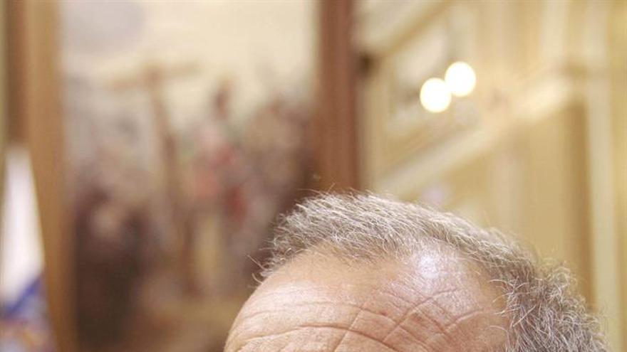 El portavoz adjunto de Podemos, Francisco Déniz. (Efe/Cristóbal García). - Podemos-Francisco-Deniz-EfeCristobal-Garcia_EDIIMA20150701_0715_18