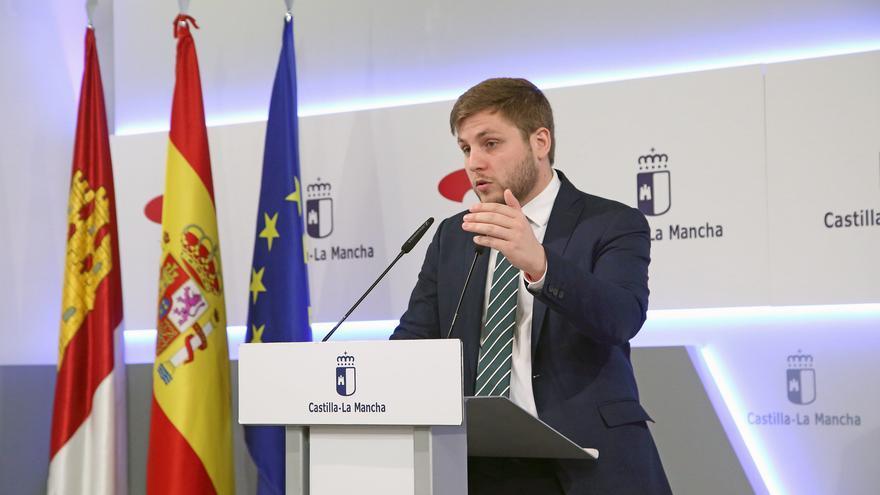 Nacho Hernando, portavoz regional de CLM