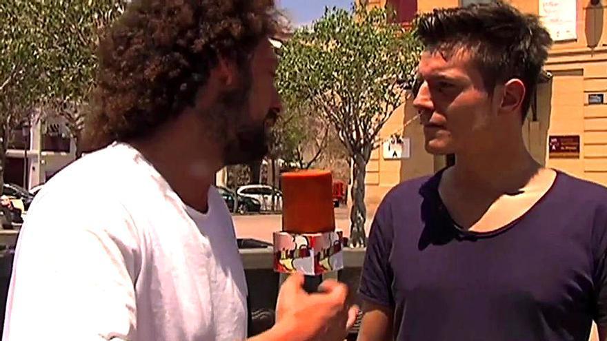 El novio de Ángel Garó narra en Telecinco el episodio de presunta violencia doméstica