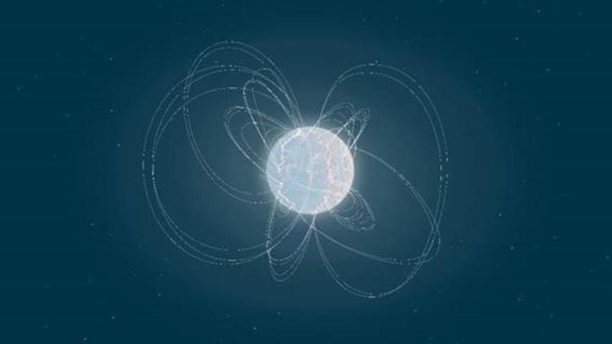 """Hallan una estrella """"bebé"""" que explica el origen de las explosiones en el universo"""