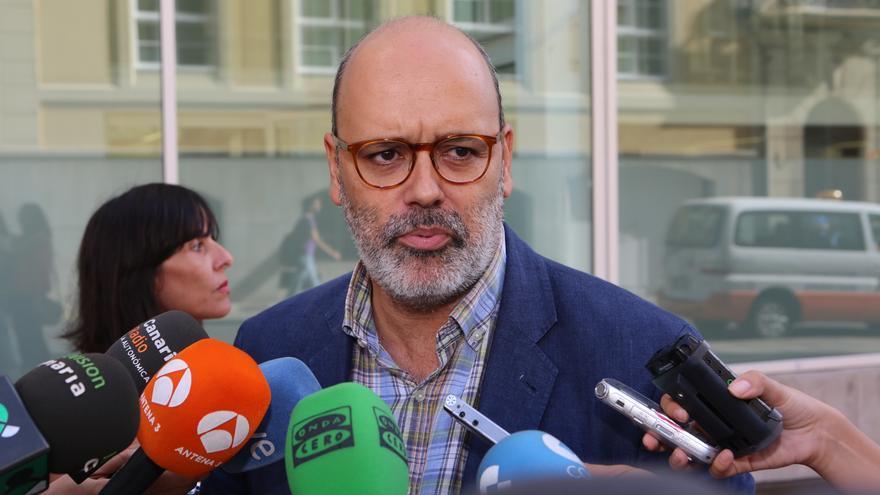 El vicepresidente tercero en el Cabildo de Gran Canaria, Juan Manuel Brito (ALEJANDRO RAMOS)
