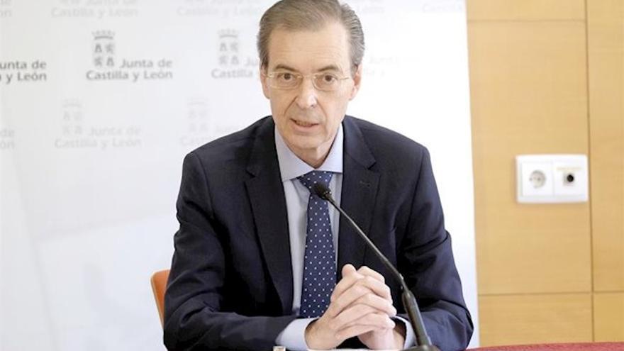 El consejero de Empleo e Industria de Castilla y León, Germán Barrios.