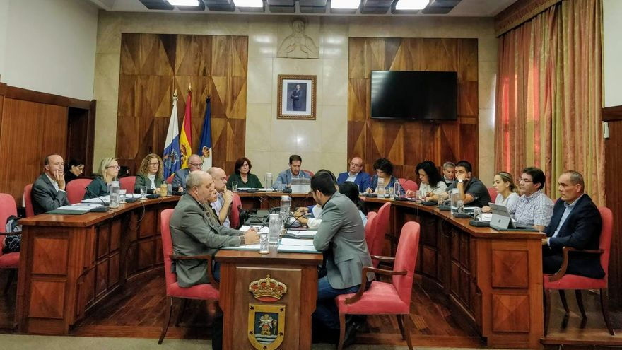 Pleno del Cabildo de La Palma celebrado este viernes, 8 de noviembre.