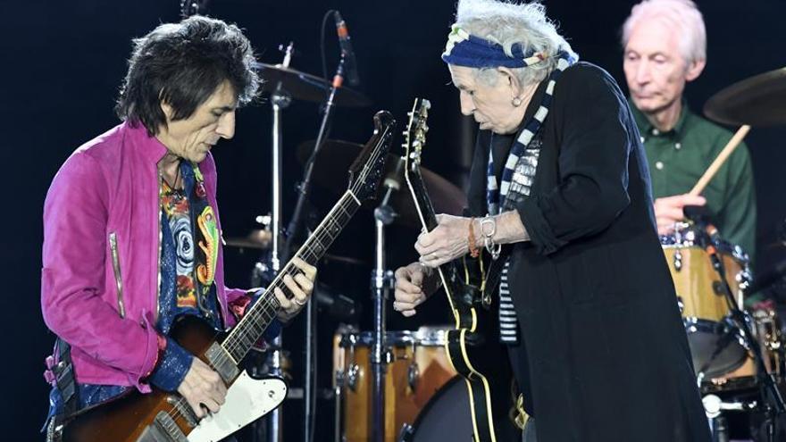 The Rolling Stones ya están en Barcelona y actúan mañana en el Estadi Olímpic