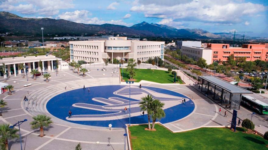 Campus de la Universitat Jaume I de Castellón.