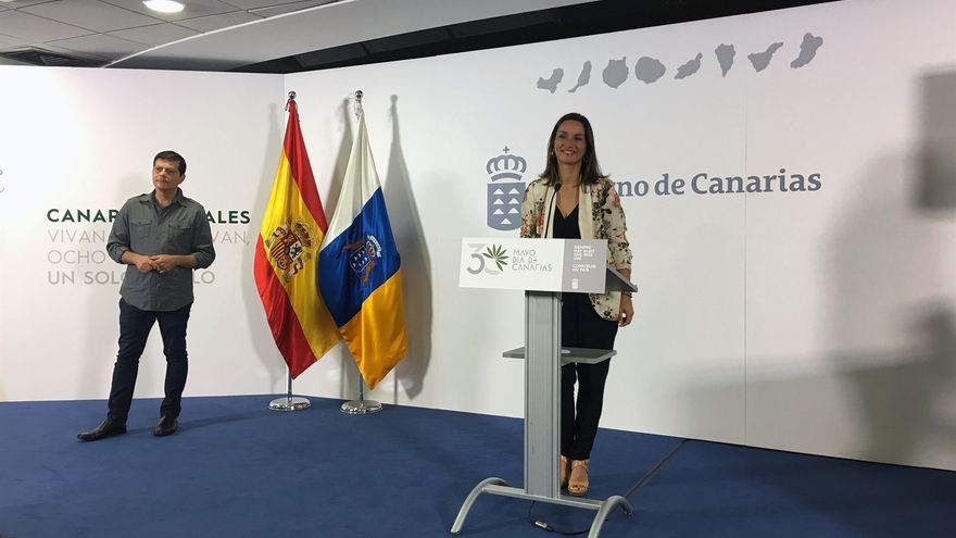 La viceconsejera de la Presidencia, Alexandra Betancort