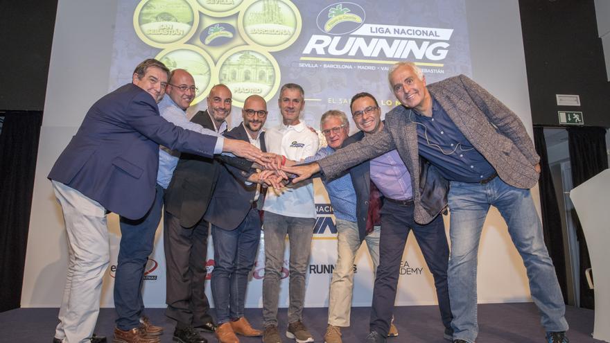 Presentación de Liga Nacional de Running Plátano de Canarias.