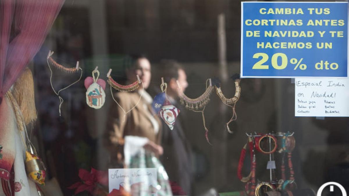 Imagen de archivo del un comercio de Córdoba.