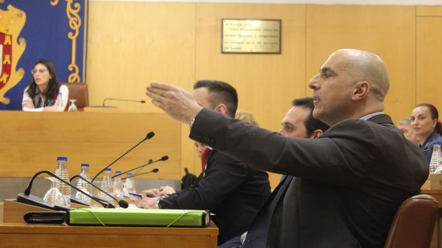 Javier Ruiz 'Pachi', dirigente de Vox.