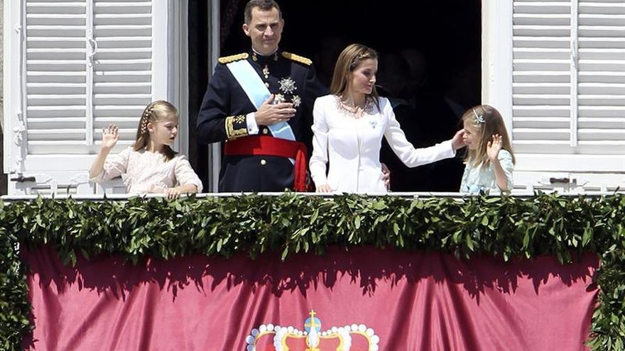 Felipe VI y doña Letizia cumplen hoy dos años como Reyes de España