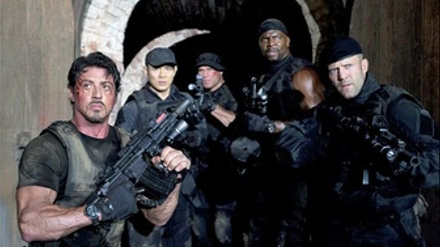Stallone y sus Mercenarios en The Expendables
