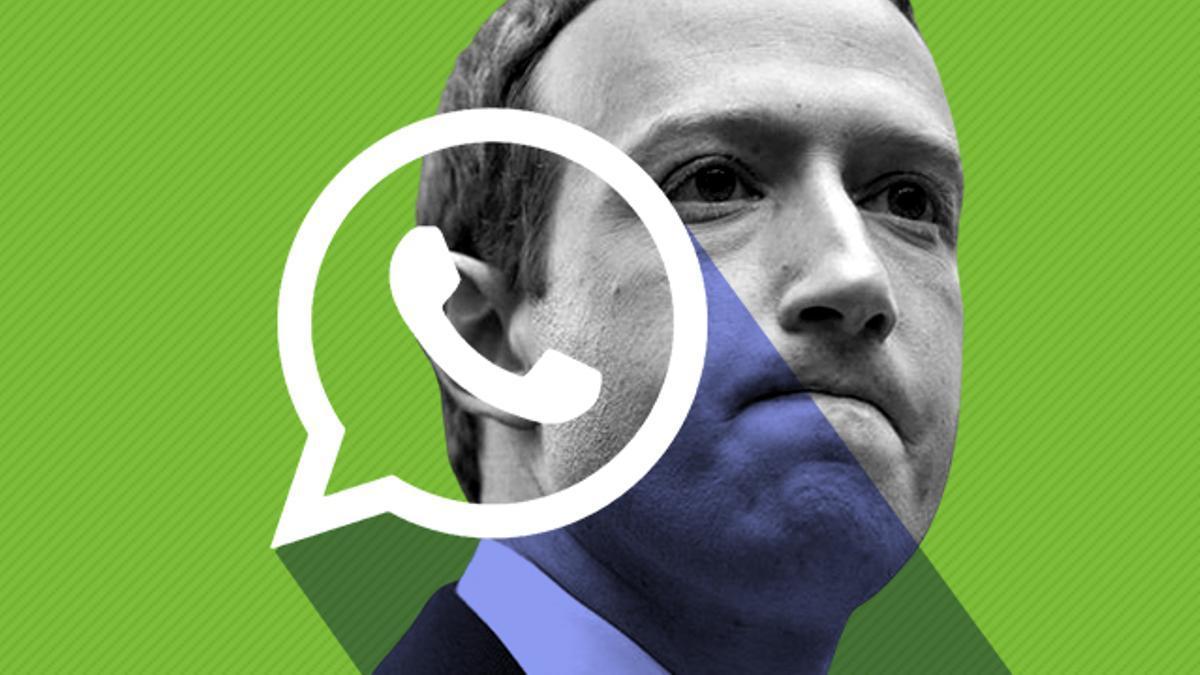 Mark Zuckerberg, propietario de Facebook, empresa dueña de WhatsApp.