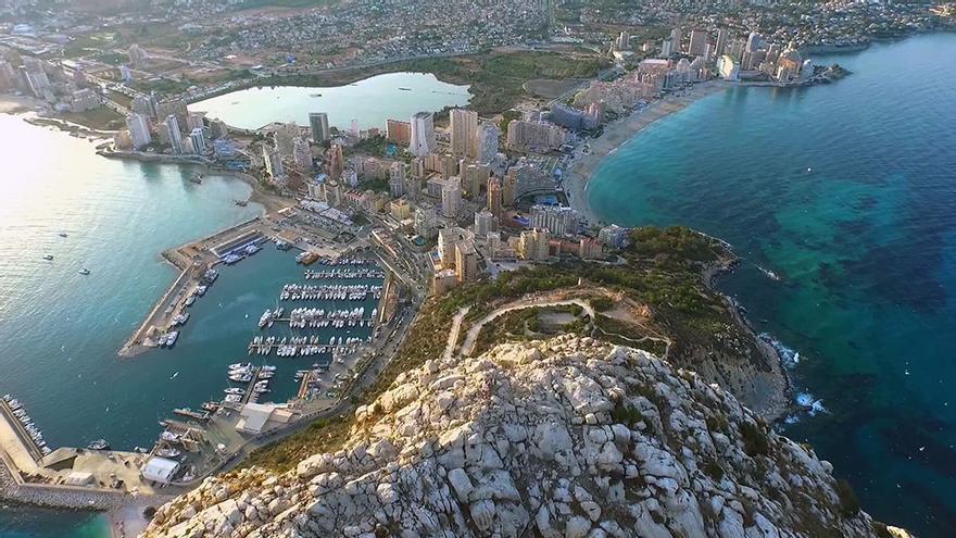 Una vista de Calp, en Alicante