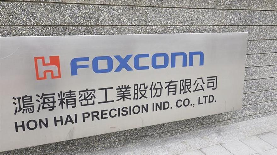 La taiwanesa Foxconn en negociaciones con Estados Unidos para megainversión