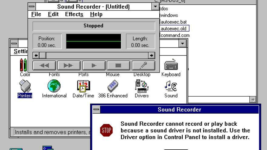 System, la fuente de Windows 3.0 volvió a la vida por unos momentos