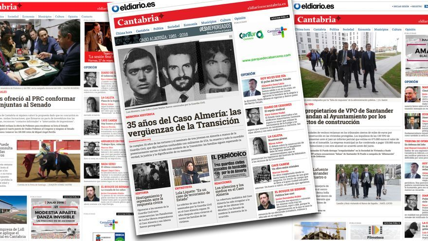 Portadas de eldiario.es Cantabria.
