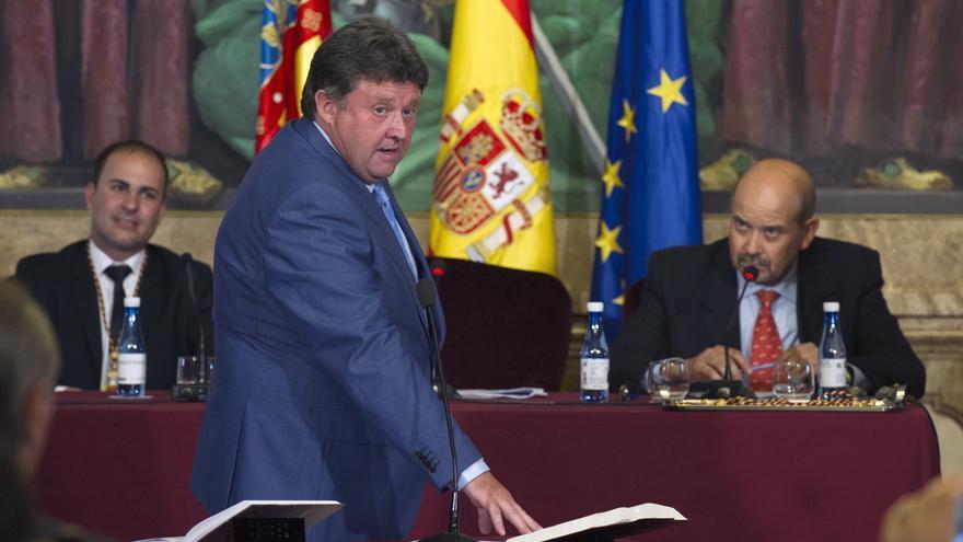 El diputado del Consorcio Provincial de Bomberos de la Diputación de Castellón y alcalde de Villahermosa del Río, Luis Rubio (PP)