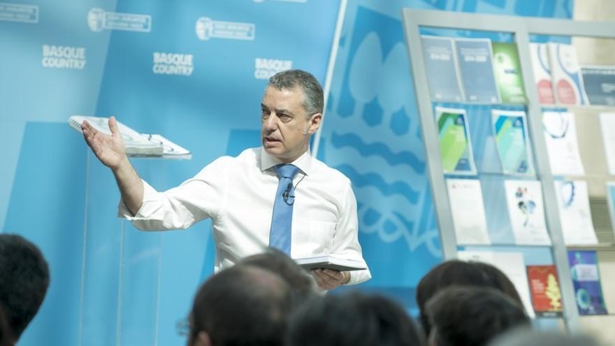 """Urkullu cree que el Estado está """"en una situación real de urgencia"""" y quiere """"alejar"""" a Euskadi de la inestabilidad"""