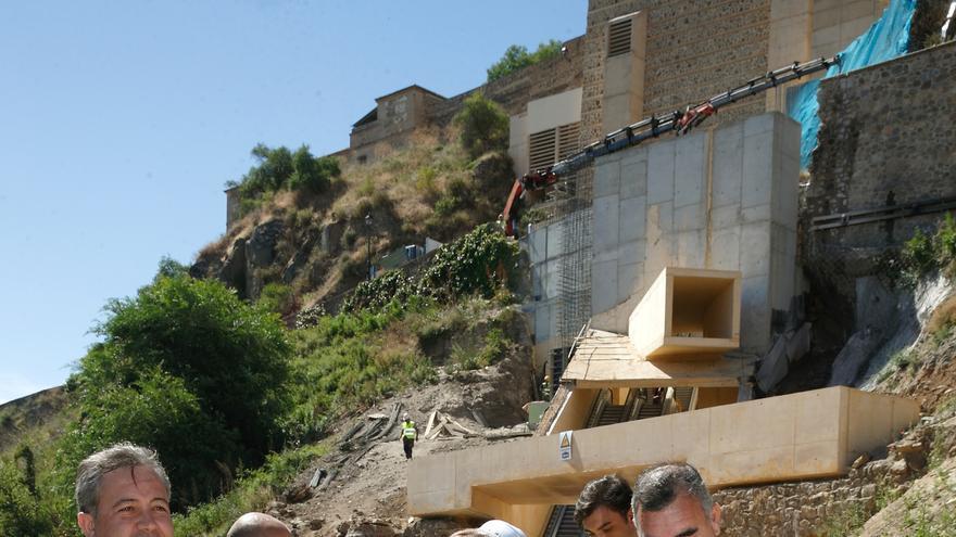 Marta García de la Calzada visita el remonte mecánico en Safont (Toledo)
