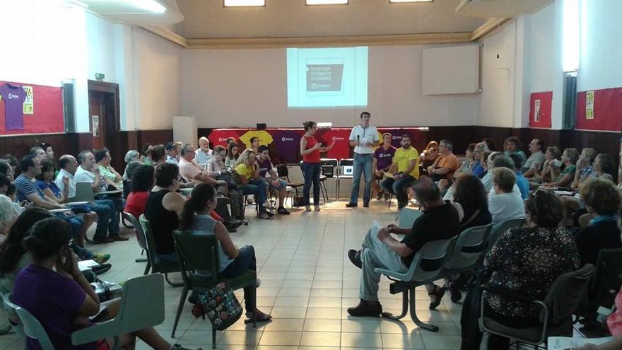 Asamblea constituyente de Ganemos Las Palmas de Gran Canaria. (FACEBOOK GANEMOS LAS PALMAS DE GRAN CANARIA)