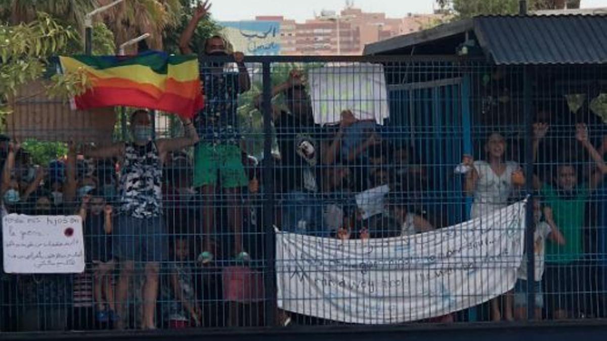 Residentes del CETI de Melilla reclaman la salida hacia la península por miedo al coronavirus