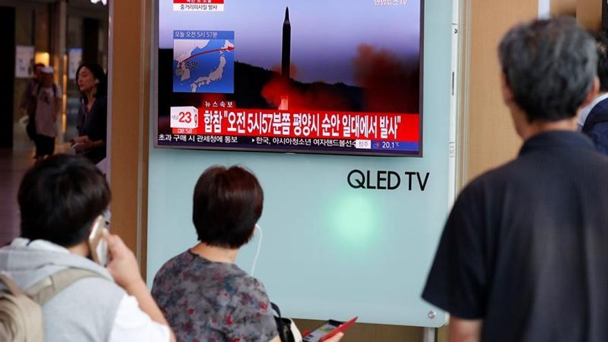 Pyongyang afirma ser capaz de montar una bomba H en un misil intercontinental