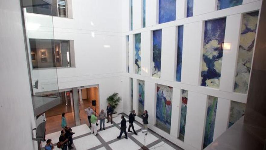 Patio del Centro de Arte Rafael Botí