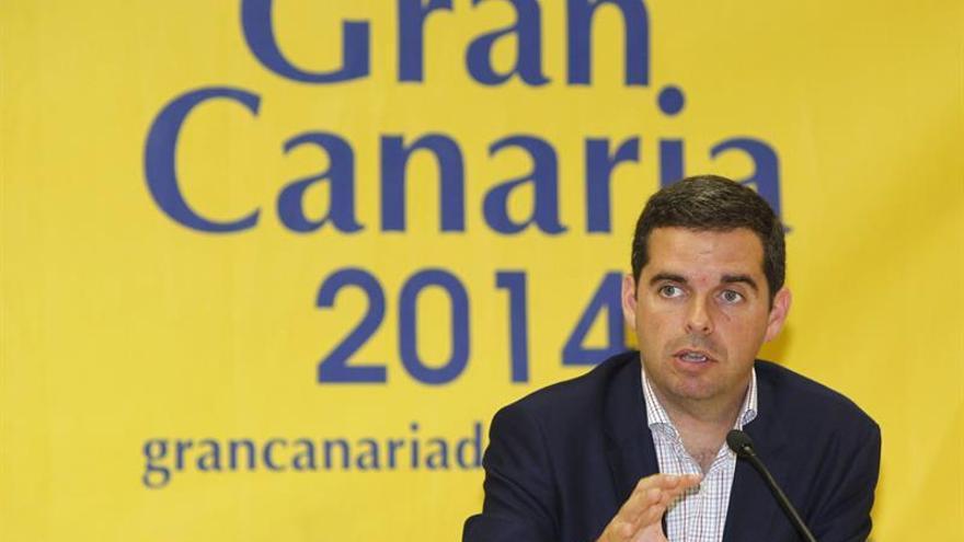 El consejero de Deportes del Cabildo de Gran Canaria, Lucas Bravo de Laguna. (EFE / Elvira Urquijo)