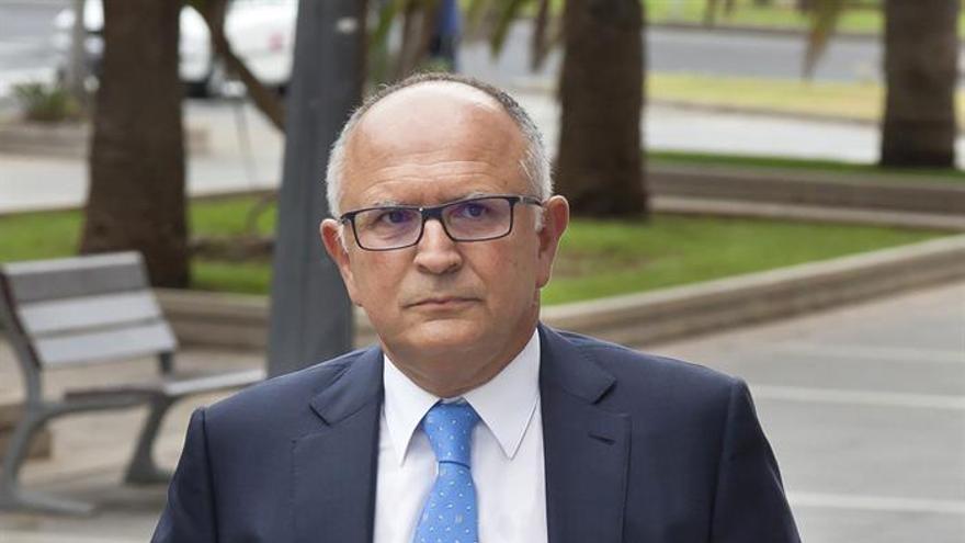 Rodolfo Núñez, expresidente de CajaCanarias. EFE/Ramón de la Rocha