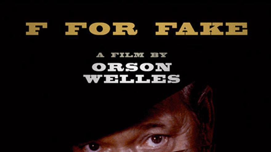 'F for Fake' Orson Welles.Janus Film/SACI