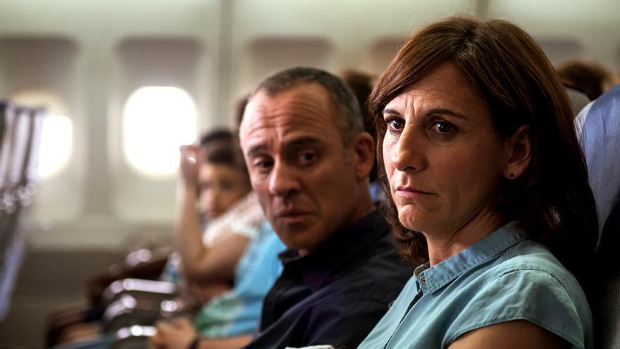 Javier Gutiérrez y Malena Alterio en 'Vergüenza'