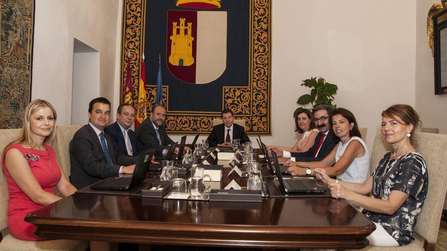 Primer Consejo de Gobierno de Emiliano García-Page