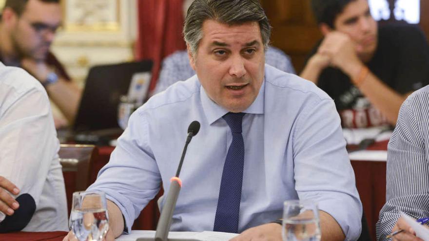 Ignacio Romaní, portavoz del PP en el Ayuntamiento gaditano.
