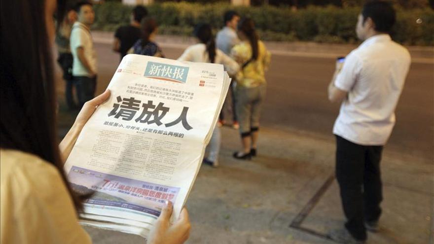 Despiden al presidente del diario chino que desafió a la censura en portada