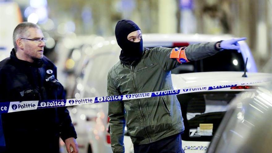 Un detenido en varias operaciones policiales en un barrio de Bruselas