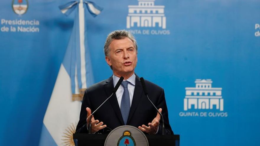 """Macri asegura en campaña que """"lo peor ya pasó"""" y que Argentina """"está creciendo"""""""