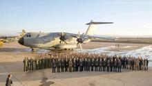 El estreno del primer avión A400M