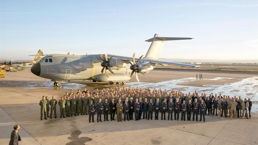 Defensa prevé que el avión A400M mejore la operatividad del ejército del aire