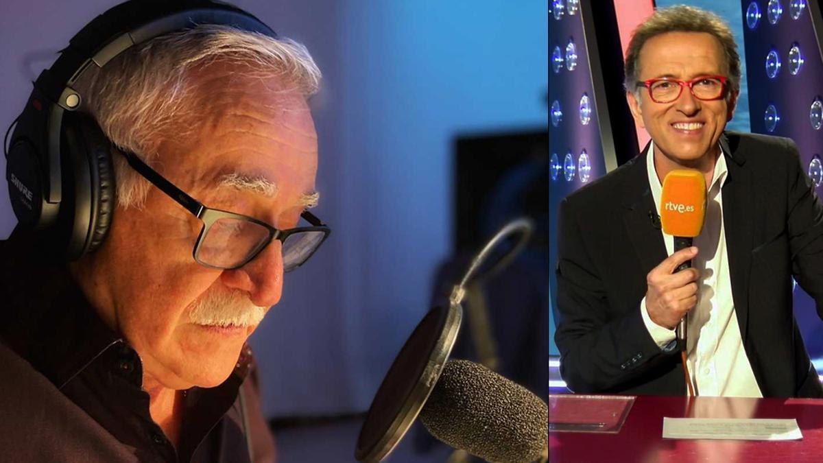 Juanjo Cardenal y Jordi Hurtado