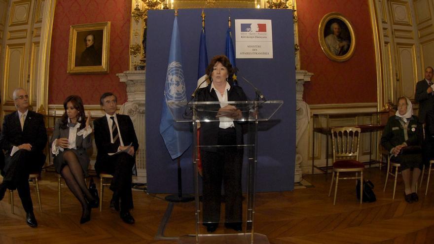 La alta comisionada de Naciones Unidas para Derechos Humanos, Louise Arbour.