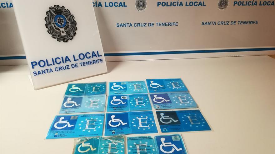 Nuevo lote de tarjetas fraudulentas que han sido retiradas en Santa Cruz
