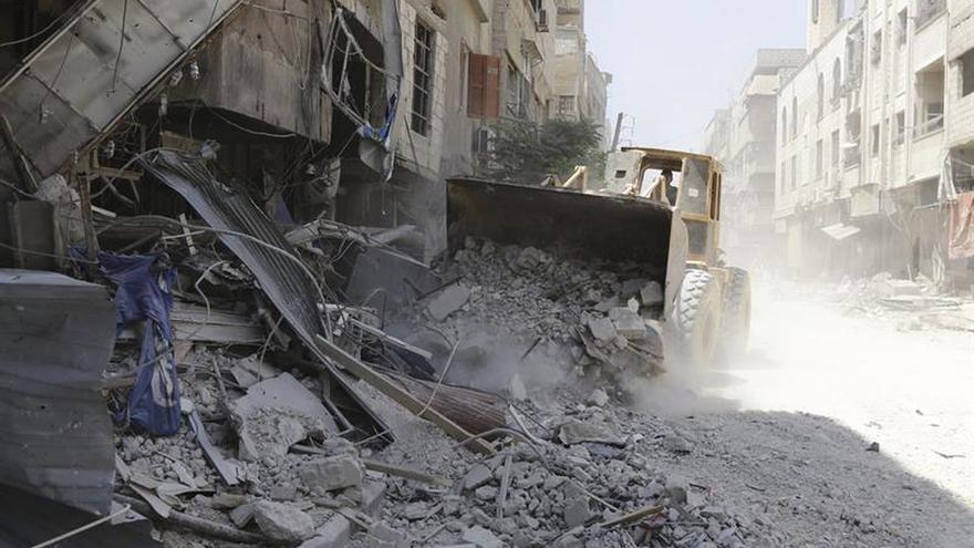 El EI derriba un avión del Ejército sirio en Deir al Zur
