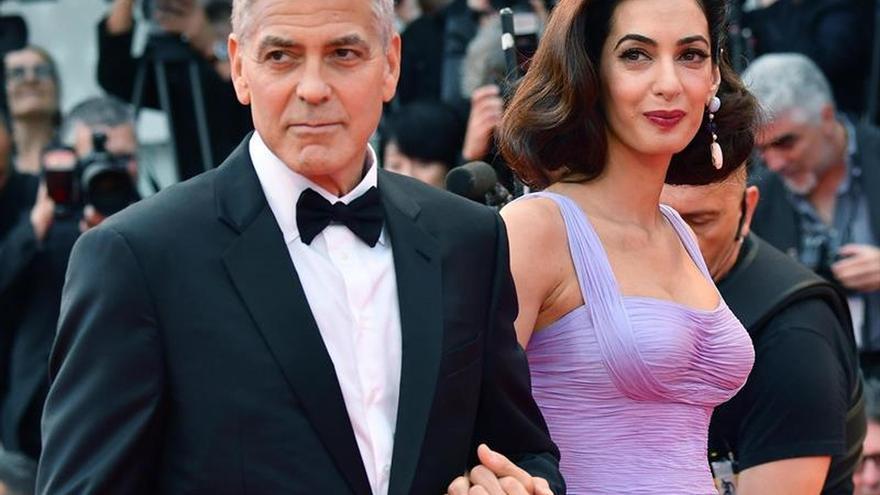 Los Clooney revelan que han acogido a un refugiado yazidí